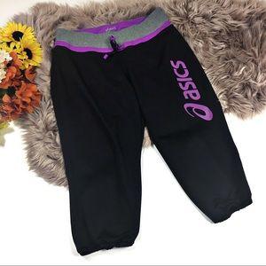 ☕️5/$25 ASICS Purple and black crops